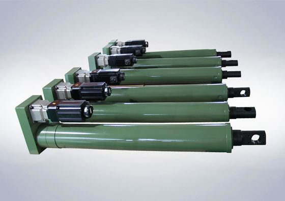China High Speed Heavy Duty Electric Cylinder For Military Industry 10t~30t Load supplier