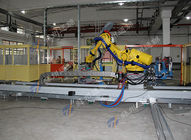 China Polishing Engineering Plastics  Robot Linear Track / Grinding  Robot Rail System factory