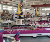China Pink Welding Industry Robot 7 Axis , High Precision Robot Linear Track factory