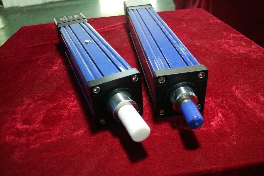 50-800mm Electric Hydraulic Cylinder System , 220V Blue