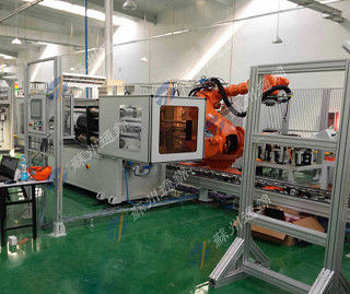 China Environmental Robot 7 Axis , Robot Linear Track In Cutting Industry distributor