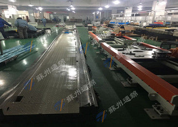 China Transportation Industrial Robotic Linear Track , Long Stroke 7th Axis Up To 70m distributor